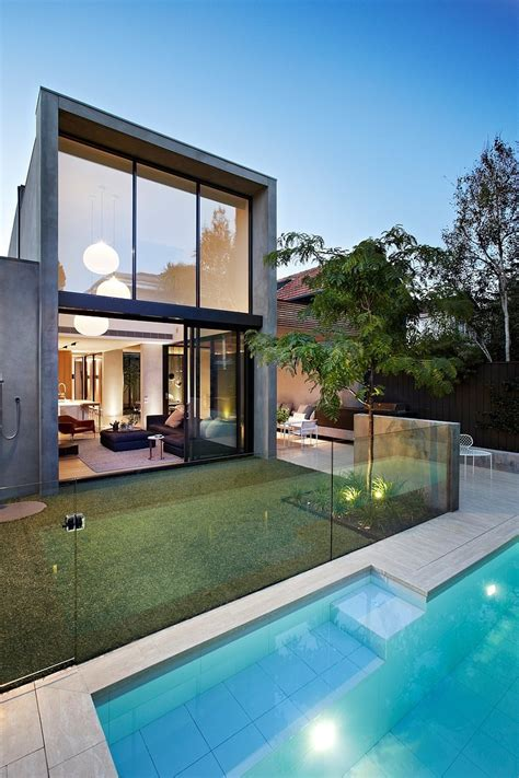 home design architecture oban house by agushi and david watson architect in south yarra australia