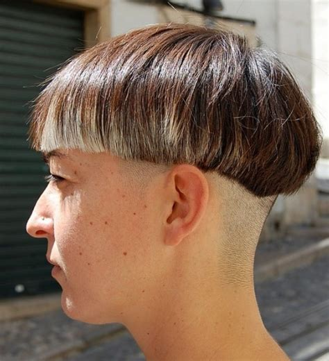 shaved hairstyles in the back fade haircut