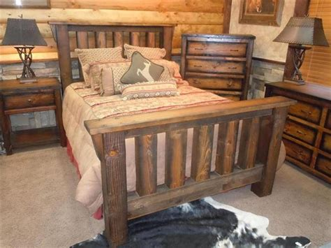 barn wood bedroom furniture rustic bed cabin barnwood furniture ranch amp lodge beds