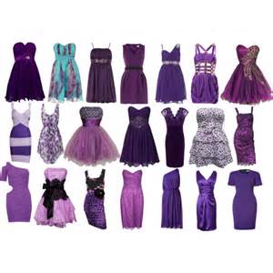 purple dresses which one is a really pretty dress
