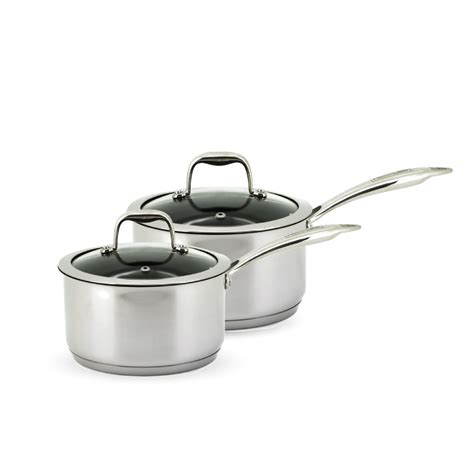 Neoflam Midas Multi neoflam stainless steel 18cm and 20cm non stick sauce pan