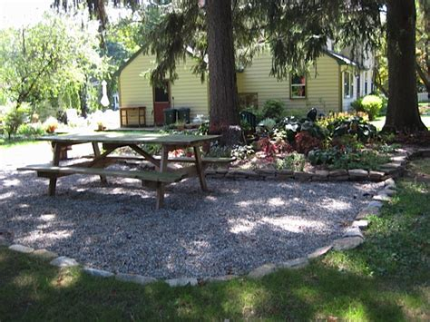 pea gravel backyard pea gravel patios sterling horticultural services