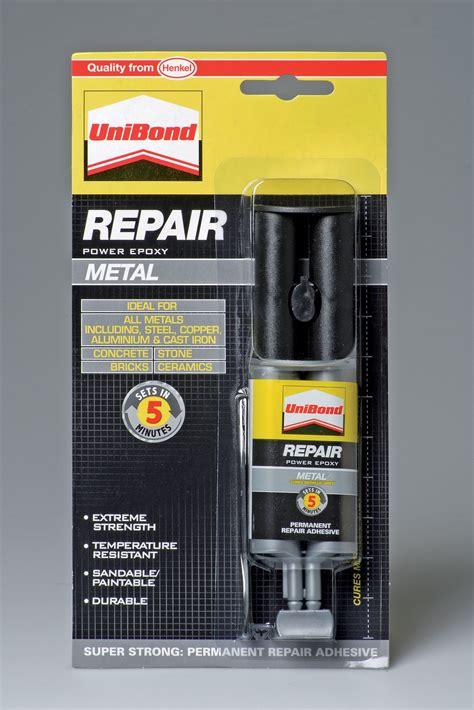 unibond repair metal epoxy glue ml departments diy