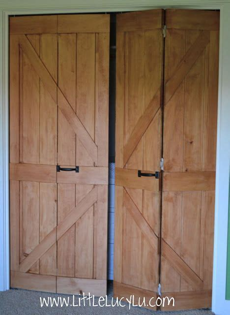 Folding Barn Doors Lu From Bi Fold To Barn Doors Maxs Closet Home Crafts Laundry