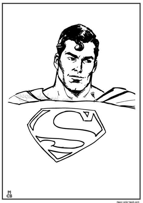 superman coloring pages superman color page cartoon