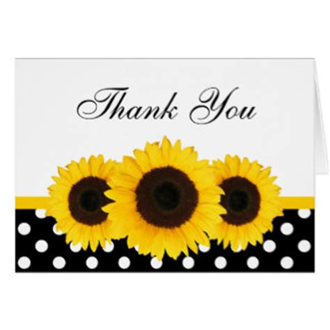 Free Thank You Sunflower Card Templates by Sunflower Thank You Cards Sunflower Thank You Card