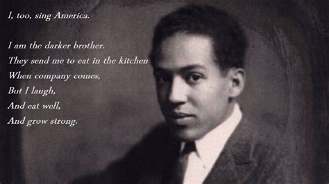 Eat In Kitchen by Langston Hughes I Too Youtube