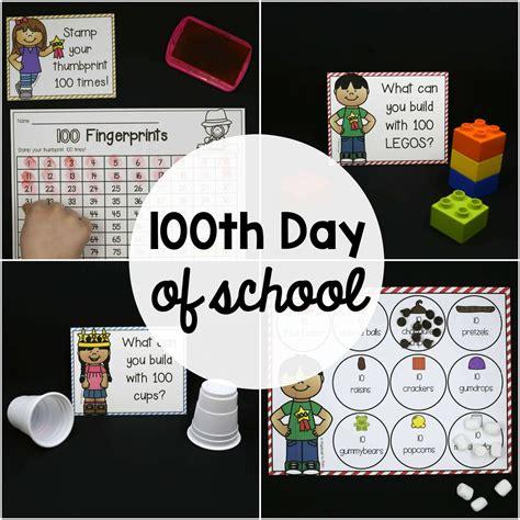 day school activities 100th day of school activities editable the stem