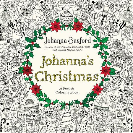 new creations coloring book series santa books johanna s by johanna basford
