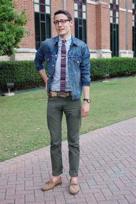 modern preppy style for men marshall mulherin modern prep style denim jacket submit