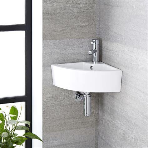 lavabo angolare bagno lavabo bagno da appoggio in ceramica angolare 460x320mm