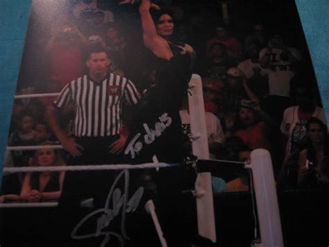 stacy keibler test death melina my wrestling autograph collection