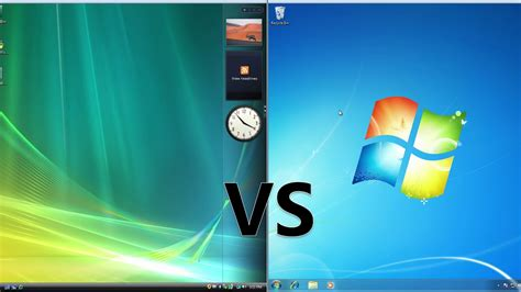 Comparing Windows 7 To Windows Vista Youtube