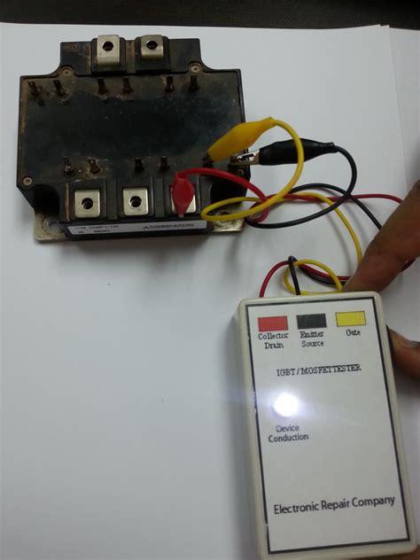 igbt transistor tester igbt transistor test 28 images how to test an igbt with a multimeter doovi miller 043553