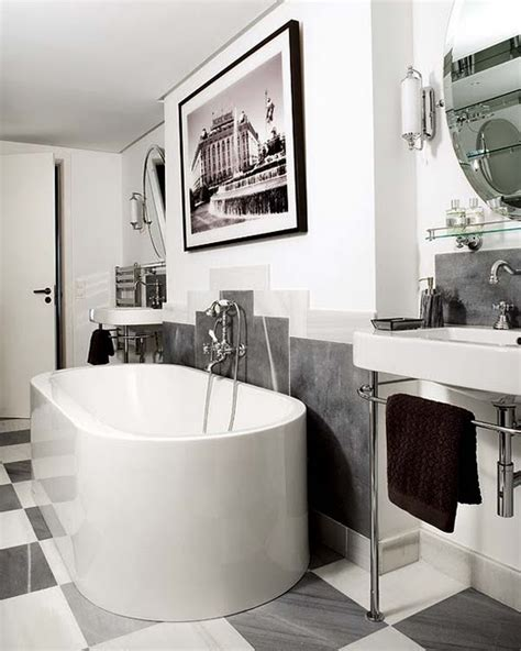 Artistic Bathrooms | 15 art deco bathroom designs to inspire your relaxing
