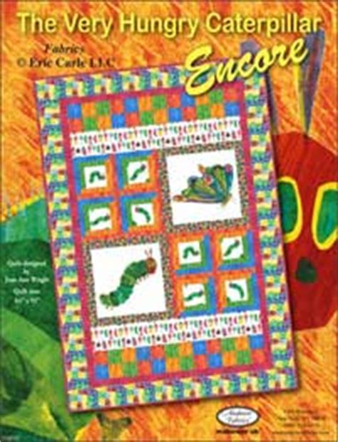 Hungry Caterpillar Quilt Pattern by Eric Carle Quilts Are Sew Beautiful Carle Museum