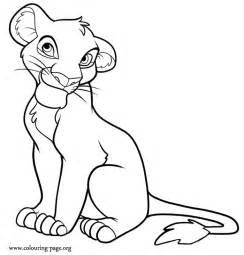 lion king coloring page az coloring pages