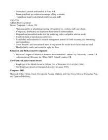 administrative assistant resume sle executive assistant resume in atlanta sales assistant