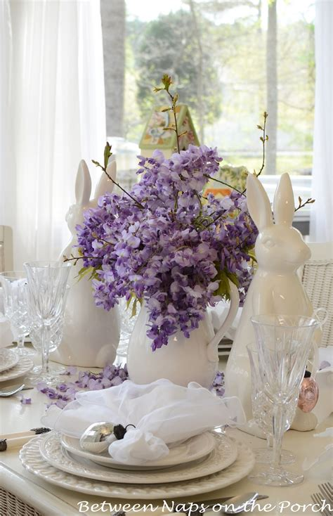 table arrangements dining room creative easter table decoration ideas to