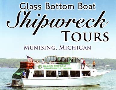 glass bottom boat tour michigan glass bottom boat shipwreck tours mackinawinfo