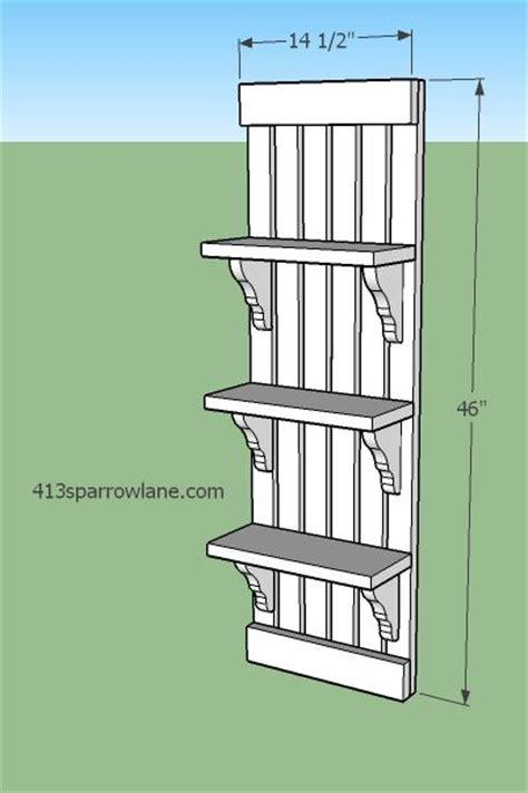 Wall Shelf Plans Free by Simple Wall Shelf Plans Woodworking Projects Plans