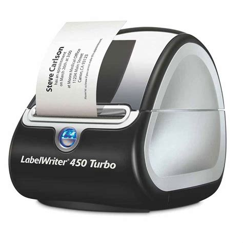 Dymo Labelwriter Lw450 Turbo Label Mchne Cos Complete Office Supplies Dymo Custom Label Template