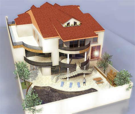 architecture maison 3d plan maison 3d avec toiture