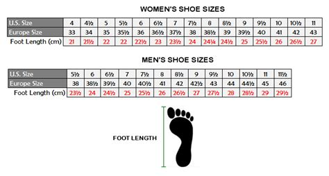 shoe size chart how to measure 503 service temporarily unavailable