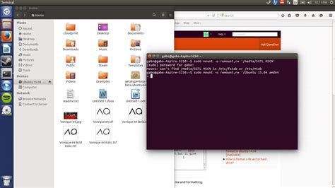 format a dvd ubuntu how to format a read only cd ubuntu help query starter