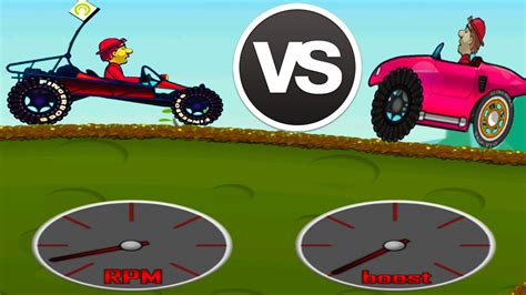 hill climb racing monster truck dune buggy vs monster truck hill climb racing 1 vs hill