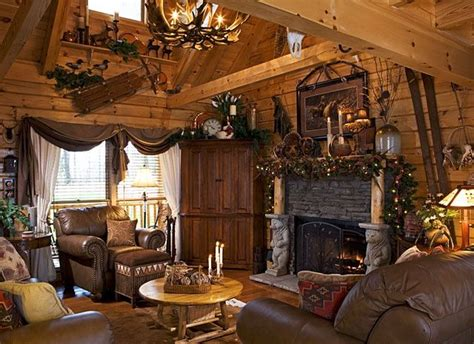beautiful log home interiors 897 best images about cabin decor on log cabin