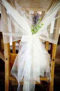 Chair Decorations by Memorable Wedding Tulle Wedding Decorations A