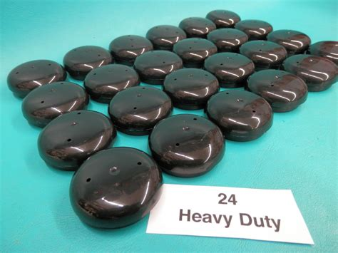 Patio Chair Leg Caps 24 Plastic Black Wrought Iron Patio Chair Leg Inserts 1 5 Cups Glide Caps 1 1 2 Quot Ebay
