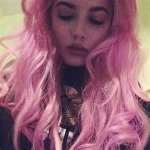 halsey hot long hair pink singer hairstyles newhairstylesformen2014
