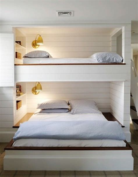 Trendy Bunk Beds 25 Functional And Stylish Bunk Beds With Lights Digsdigs