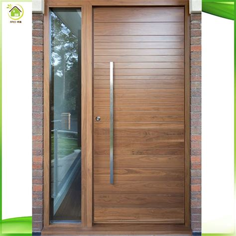 Plain Exterior Door Plain Exterior Doors Entry 4 Plain Panel Wood Door With 2 Sidelites Make Your Entry Pop With