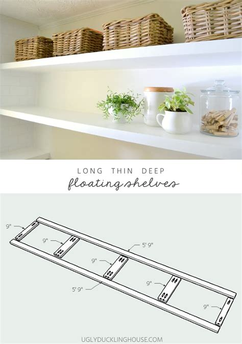 Finally How To Create Long Deep Shelves That Aren T Bulky Sturdy Floating Shelves