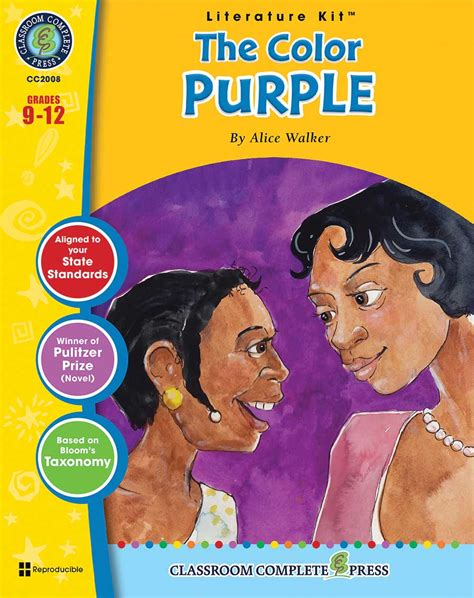 color purple book analysis the color purple novel study guide grades 9 to 12