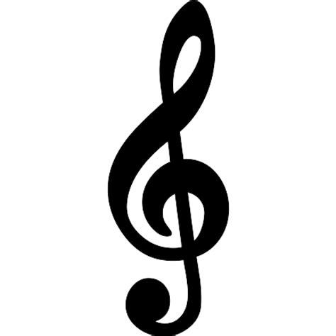imagenes simbolos de musica s 237 mbolo clave de sol iconos gratis de m 250 sica