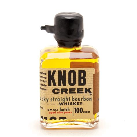 knob creek kentucky bourbon whiskey mini 50ml
