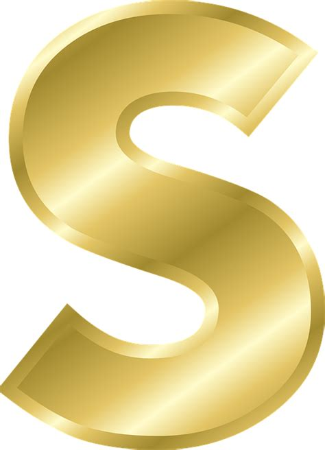 Letter S Capital 183 Free Vector Graphic On Pixabay