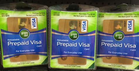 Green Dot Visa Gift Card - reloadable prepaid debit cards green dot best business cards