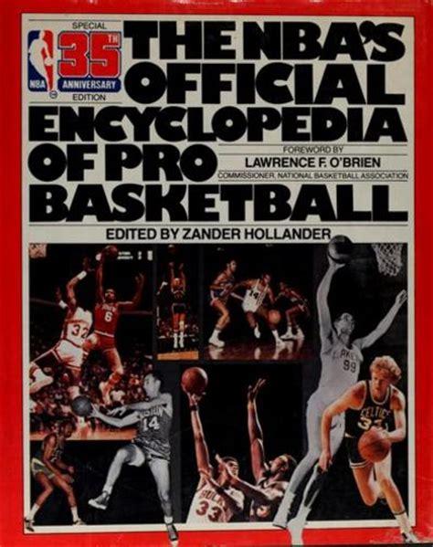 indiana basketball encyclopedia books the nba s official encyclopedia of pro basketball by