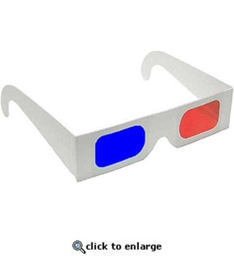 How To Make 3d Glasses With Paper - paper 3d glasses rainbow symphony inc