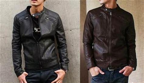 Model Jaket Priasemi Kulit Trendy trend model jaket kulit pria keren terbaru 2014