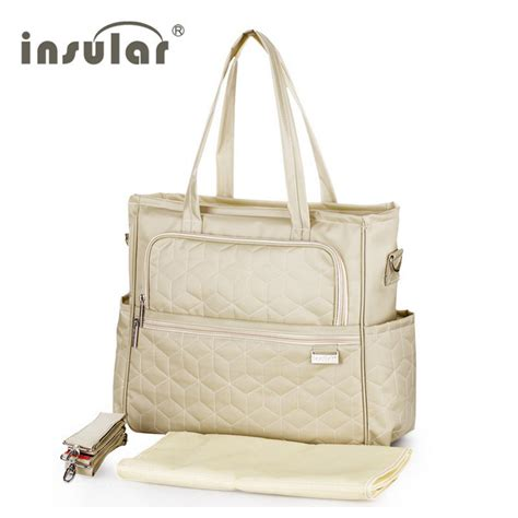 Insular Bag insular baby stroller bag waterproof brand handbags for multicolor nappy bags with