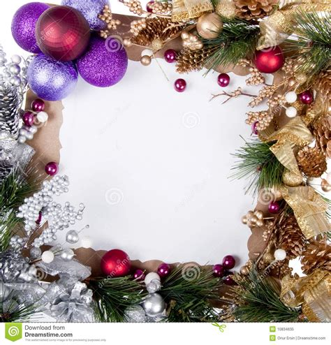christmas card frame royalty free stock photo image