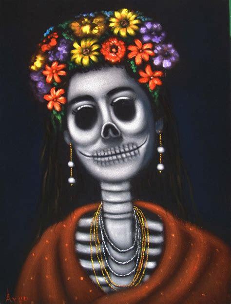 imagenes de calavera frida kahlo frida kahlo portrait la calavera catrina skull original