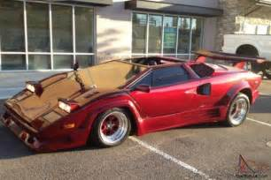 Lamborghini Kit Cars 1989 Lamborghini Countach Kit Car 25th Anniversary