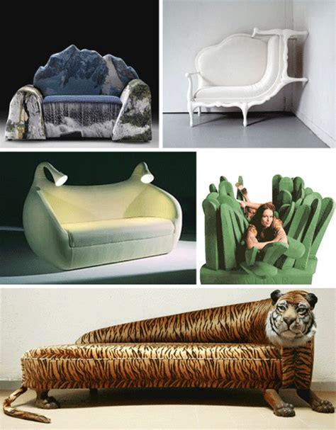 wacky sofas take a seat for two 31 wild wacky sofas couches